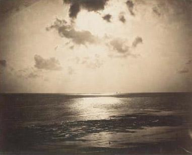 Reflet du soleil, Océan n°23 by Gustave Le Gray